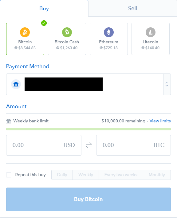 how long does it take coinbase to sell