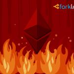 Ethereum wallet of Bitfinex exchange almost half empty