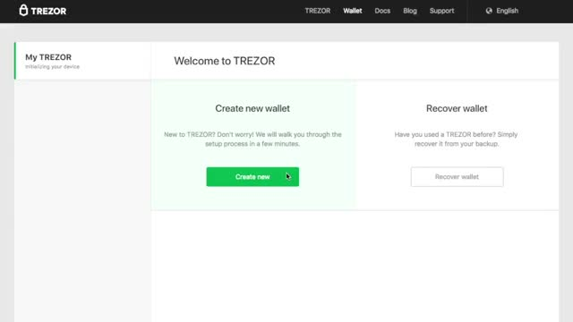 Trezor will introduce firmware for BTC and the option to
