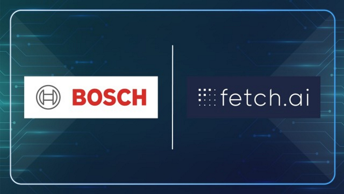 Bosch Global Announces Partnership With Fetch.ai